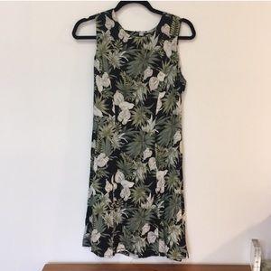 Vintage Dresses - Tropical Print Vintage Dress